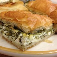 Freshly Make Spanakopita