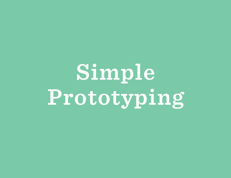 See an example  of how simple and useful prototyping can be. All you need is a great idea, and some materials that you already have around your library!
