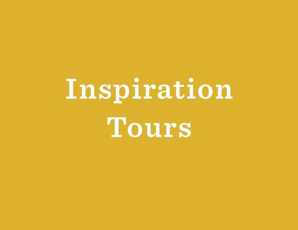 See an example of how to get your team inspired for a Design Thinking project (or in general). Designer and researcher,  Julka Almquist , led a group of librarian on an inspiration tour for the Next Library Berlin conference.