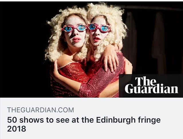 VOID made the top 50 shows to see at Edinburgh Fringe.  https://www.theguardian.com/stage/2018/jun/29/50-shows-to-see-at-the-edinburgh-fringe-2018 @madeinscotland_showcase @edfringe