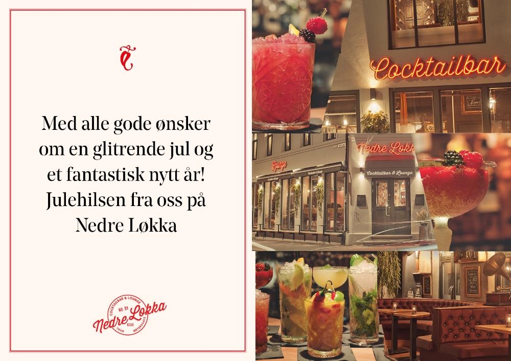 Jule & nyttår Nedre Løkka Cocktailbar