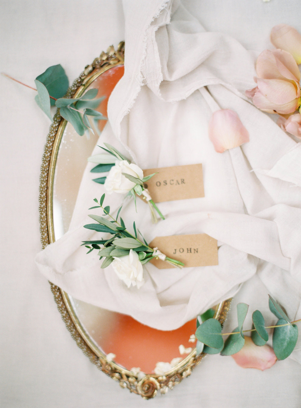 Lily & Sage | Lost Orangery Cotswolds Wedding European Style Wedding English Countryside Wedding Neutral Wedding Olive Branch Buttonholes Boutonnière | Katie Julia Photography  086.JPG