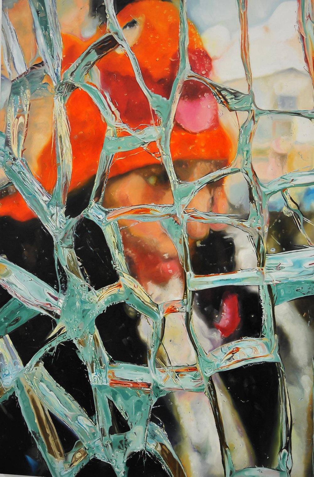 Behind Broken Glass