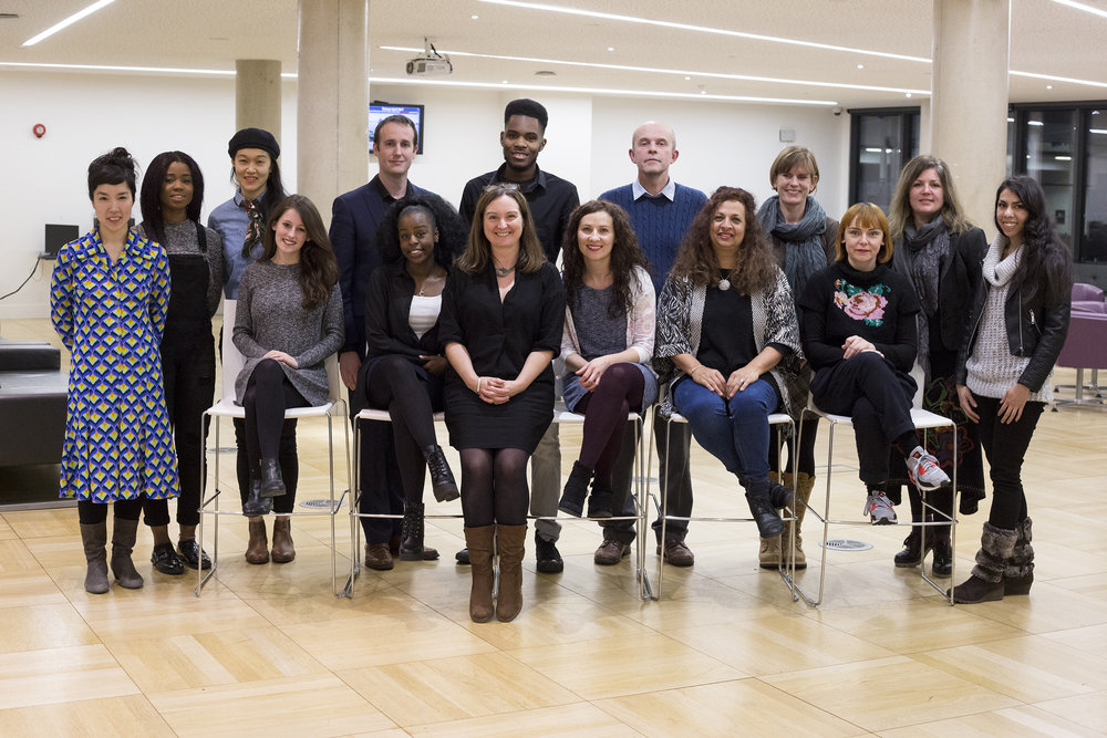 The testbeds 2017 cohort with Professor Helen Bailey