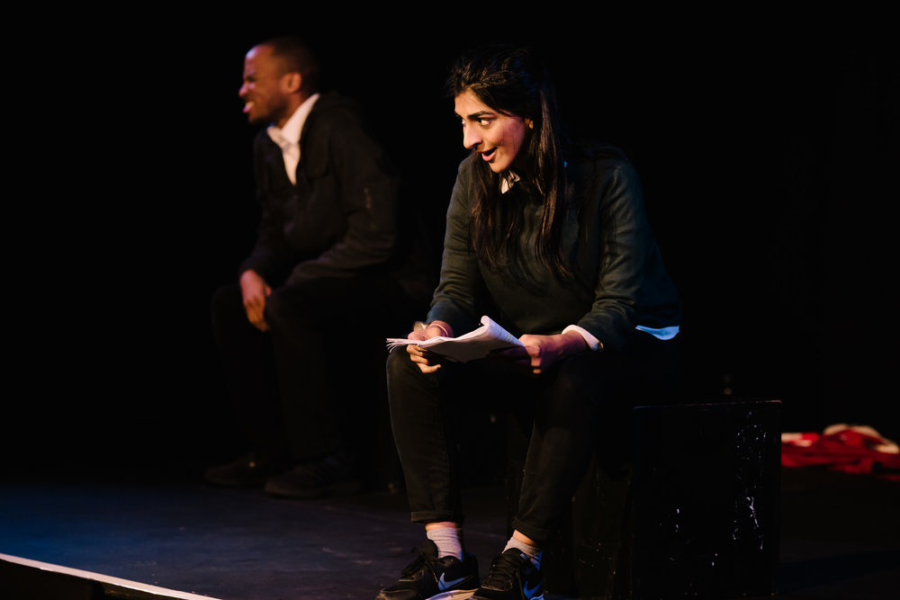 performance: castaways - Mandala Theatre Company presented excerpts of their new play Castaways by Atiha Sen Gupta, which explores young people's experiences of connection or lack of connection from the communities that they have grown up in and the consequences of their choices.