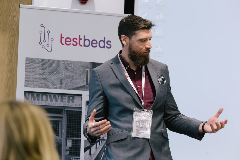 talk: clearhead media - Clearhead founding partner Gavin O'Brien celebrated Clearhead's 10-year anniversary and explored how being born and based in Luton has made an impact on the company.