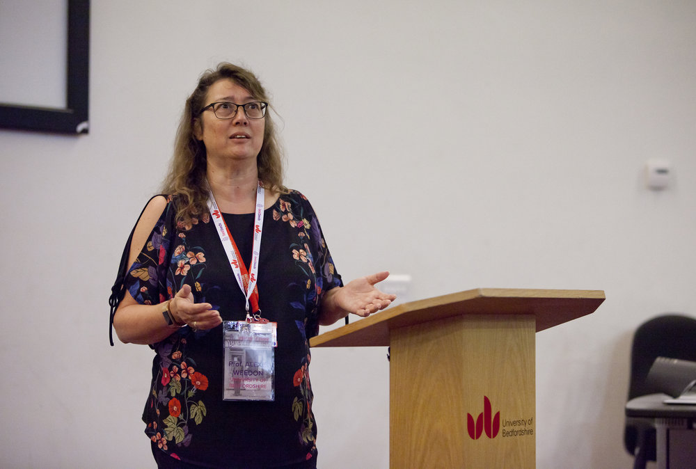 Keynote: Keynote: Professor Alexis Weedon, head of the Research Institute for Media, Art and Rerformance, University of Bedfordshire -