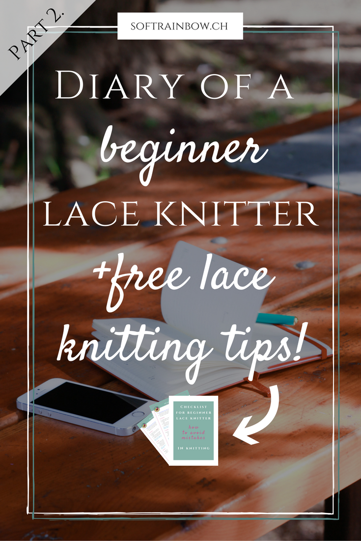 beginner lace knitter | knitting pattern