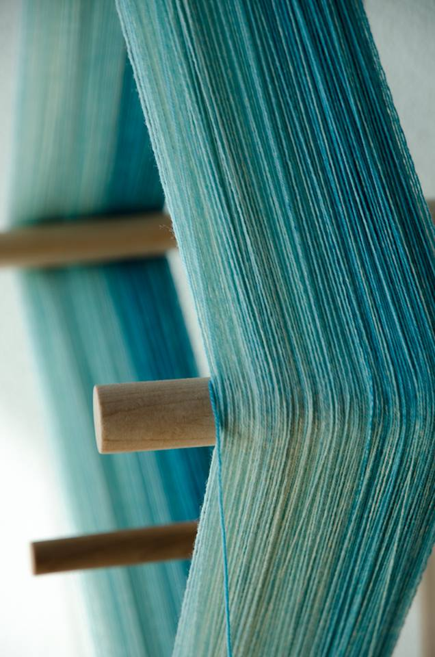 Hand dyed yarn types - ombre