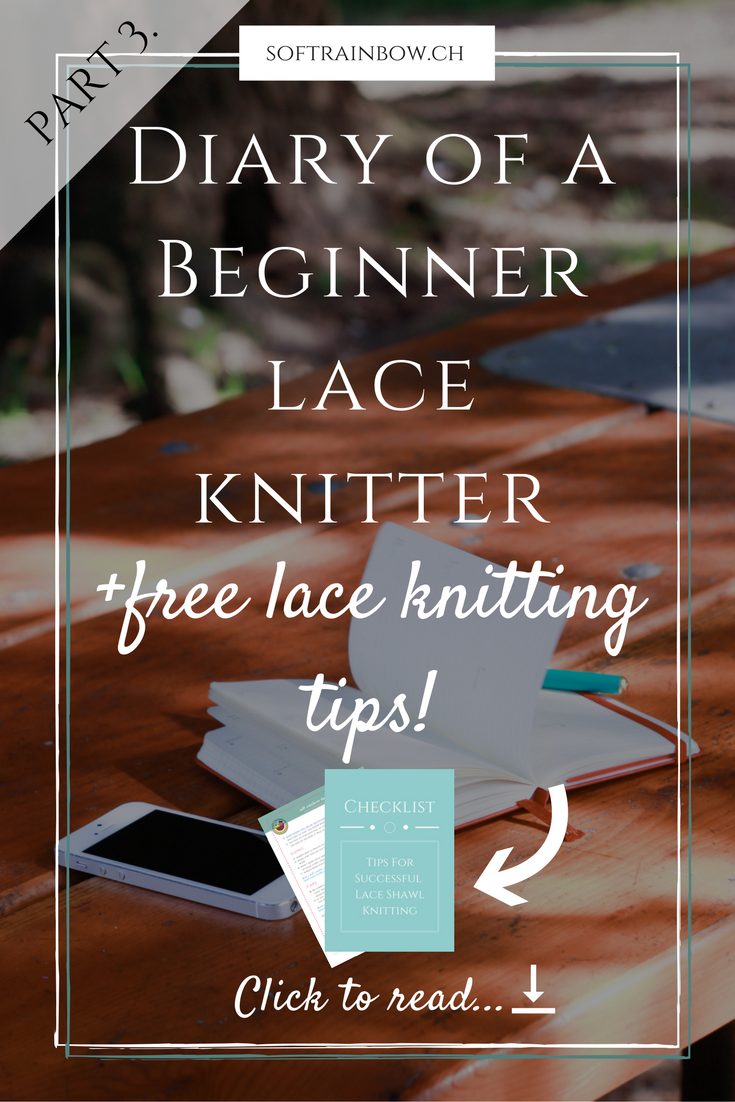 Diary of a beginner lace knitter - part 3