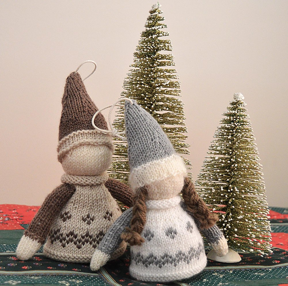 Nordic Christmas Ornament  by   OGE Knitwear Designs