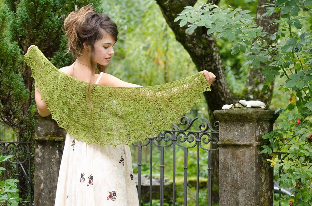 Wildspitz Shawl