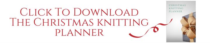 Christmas Knitting Planner