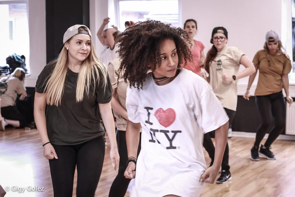 As a choreographer, Aleta's distinct style is heavily influenced by grooves, hip-hop techniques and commercial jazz funk. Edgy, current and dynamic with a real emphasis on musicality.