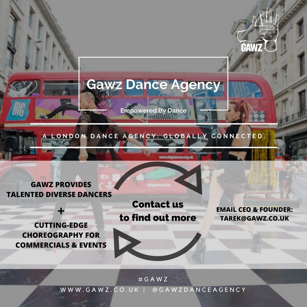 Invest in Dance Entertainment_Gawz Dance Agency