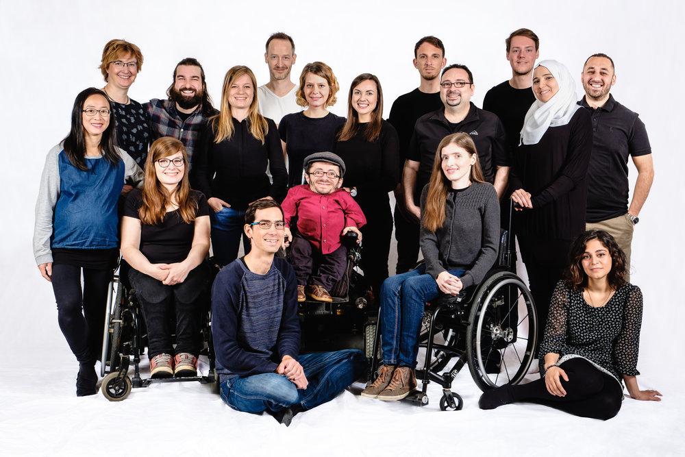 Sozialhelden, digital awareness campaigns for Brokenlifts/MapMyDay, Uwe 2015.