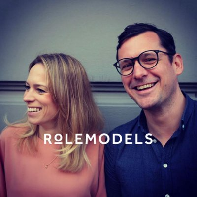 Rolemodels podcast and event series. David, since 2015.