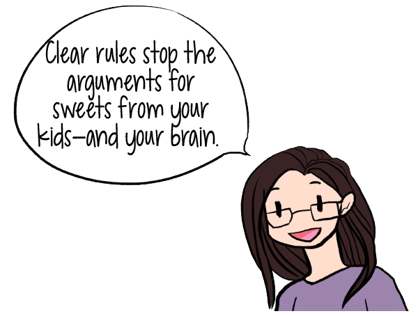 Clear rules stop the arguments for sweets from your kids--and your brain. I had unknowingly programmed my children to ask for a treat after every meal by intermittently conditioning it.| How to Get Your Kids to Stop Whining for Sugar & Stop Yourself from Wanting it Too! | www.realhealthyhabits.com