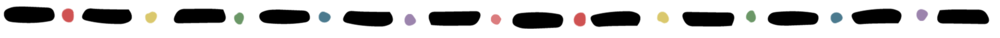 SideWays Rainbow Border with Black Dots.png