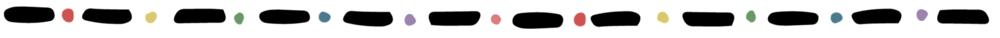 SideWays Rainbow Border with Black Dots.png
