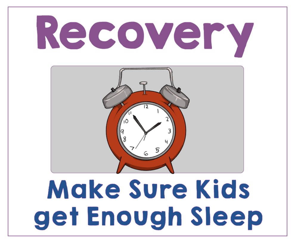 #5 Make Sure Your Kids Get Enough Sleep by Checking the Sleep Chart. Health Family Habits the Pain-free way. | Get Your Kids Healthy with These Easy- Peasy Habits | Real Healthy Habits | www.realhealthyhabits.com