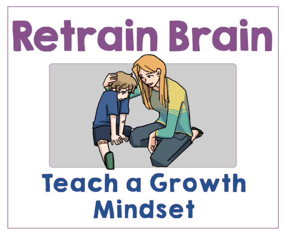 #6 Teach Your Kids to Have a Growth Mindset. Health Family Habits the Pain-free way. | Get Your Kids Healthy with These Easy- Peasy Habits | Real Healthy Habits | www.realhealthyhabits.com