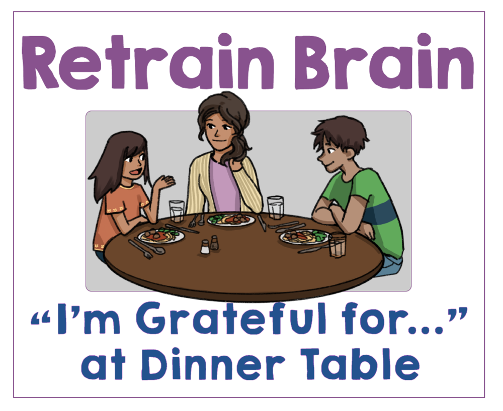 #8 Make a Gratitude Habit at the Dinner Table. Health Family Habits the Pain-free way. | Get Your Kids Healthy with These Easy- Peasy Habits | Real Healthy Habits | www.realhealthyhabits.com