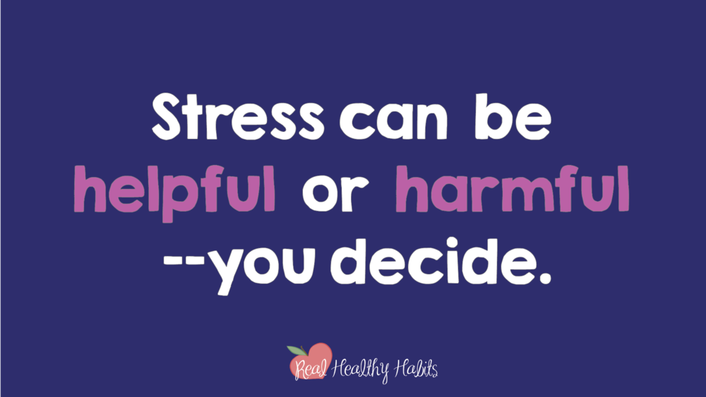 Stress can be helpful or harmful—you choose which one. People who believe stress is helpful have healthier and happier lives.   How to Make Stress Your Superpower: Stress Paradox #2   www.realhealthyhabits.com