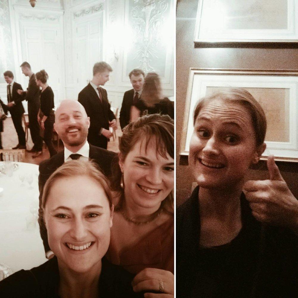 Selfies in het Paleis. De officiële Koninklijke foto's volgen later.
