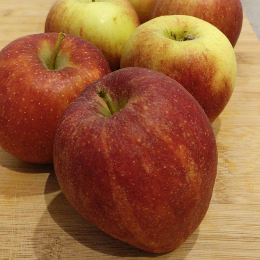 Overrijpe appels zijn perfect als basis voor een appelcrumble.