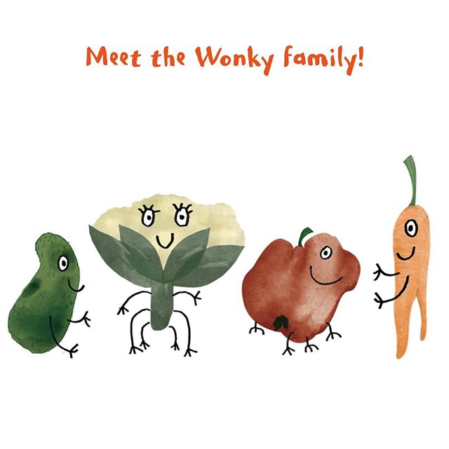 MEET THE WONKY FAMILY! 👨‍👩‍👧‍👦⠀ 2019 is full of surprises: we launched our new branding on the website and the new packaging will be in stores as from next weekend! 😍 ⠀ .⠀ .⠀ .⠀ #wonky #thewonkyfamily #thetastywaytorescuefood #wonkyfamily #family #meet #weekend #branding #newbranding #newbrand #brand #wonkyhero  #foodwaste #nowaste