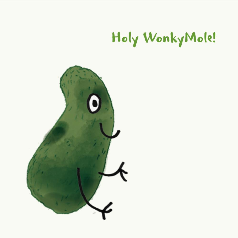wonky guacamole