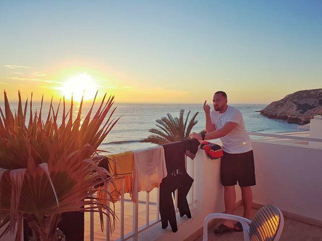 Veļas diena #palm #ocean #sunset