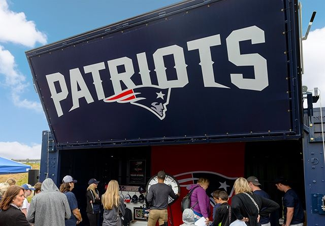We're so excited for the start of the @NFL playoffs this weekend!  Congrats to our friends at the @patriots for their 10th straight playoff appearance!  #ActivateDetroit #Patriots #PatriotsNation