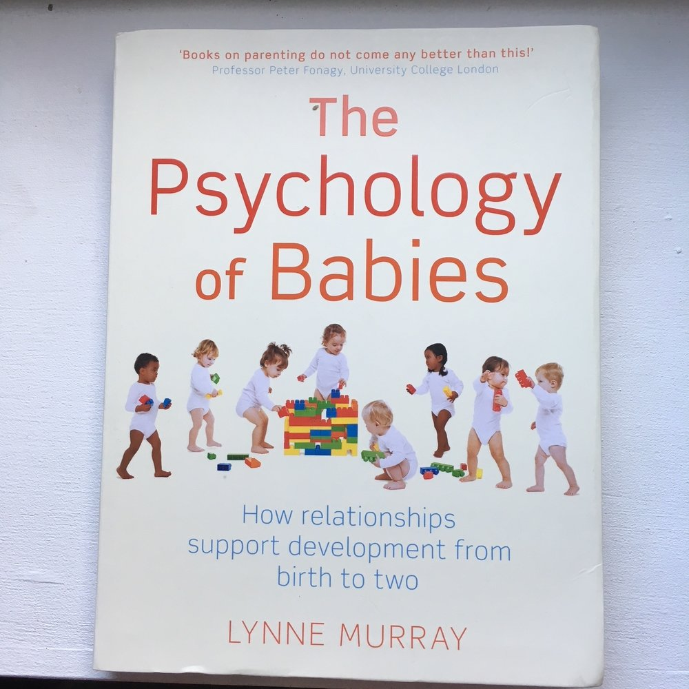 The Psychology of Babies - Lynne Murray If you want to know more about what your baby might be 'up to',  this is a really lovely book. Lynne Murray is a developmental psychologist who has studied babies for decades and she has a wonderful way of helping you see things from your baby's perspective. This book can be useful if you want to reassure yourself that your baby is a co-partner in this new stage of your life, and that you can trust them to help you learn what they need.