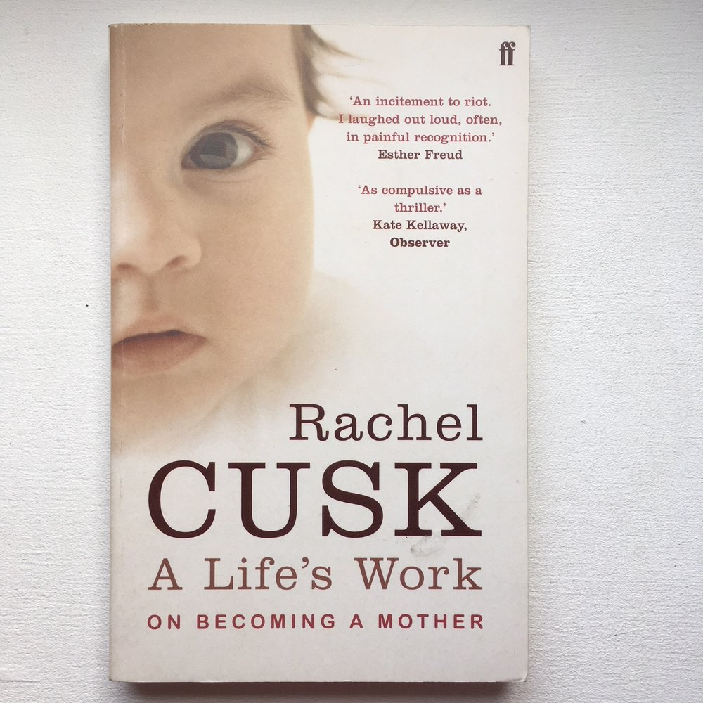 A Life's Work - Rachel Cusk If you're struggling as a mother, it can be useful to hear that others have struggled and survived.  This is a pretty frill-free account of new motherhood, where Rachel describes her own experience. Many new mothers have enjoyed reading this book, and found it a refreshing take.
