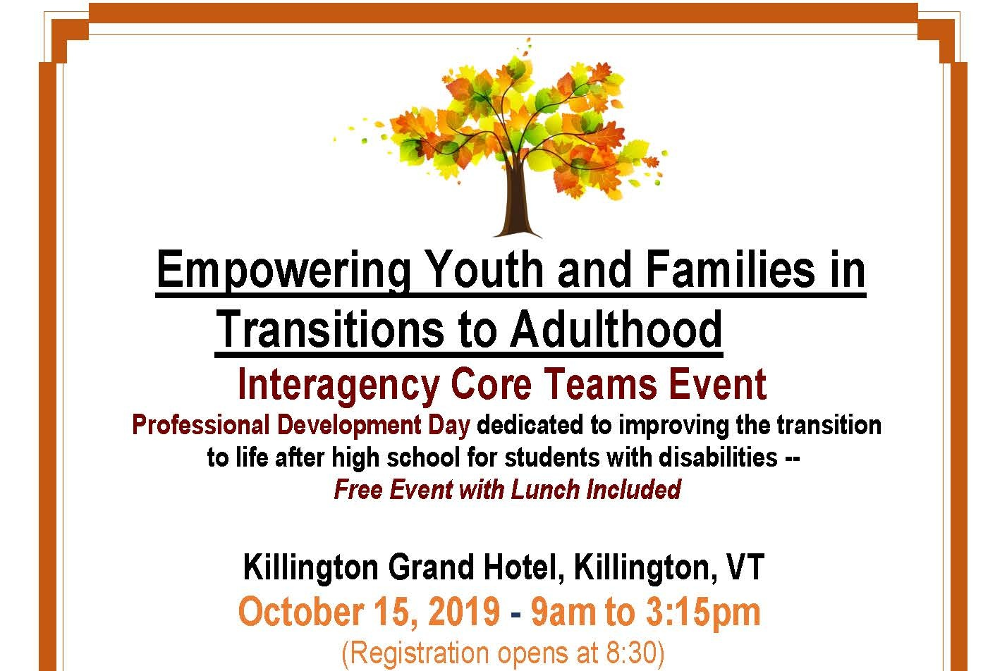 Empowering Youth and Families in Transitions to Adulthood