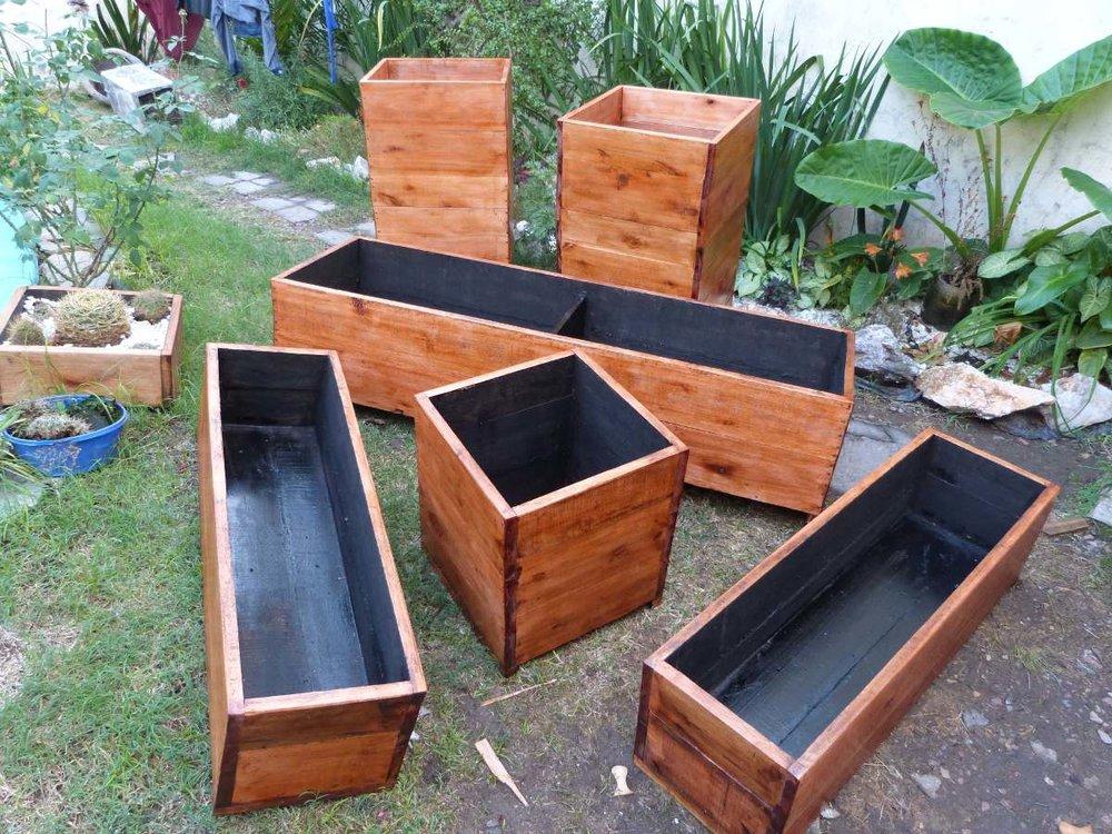 Jardineras altascopas - Jardineras de madera caseras ...