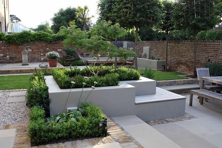 jardineras sencillas de hacer ya que con ladrillos cemento y un buen puedes hacerte una jardinera adaptada a tus necesidades