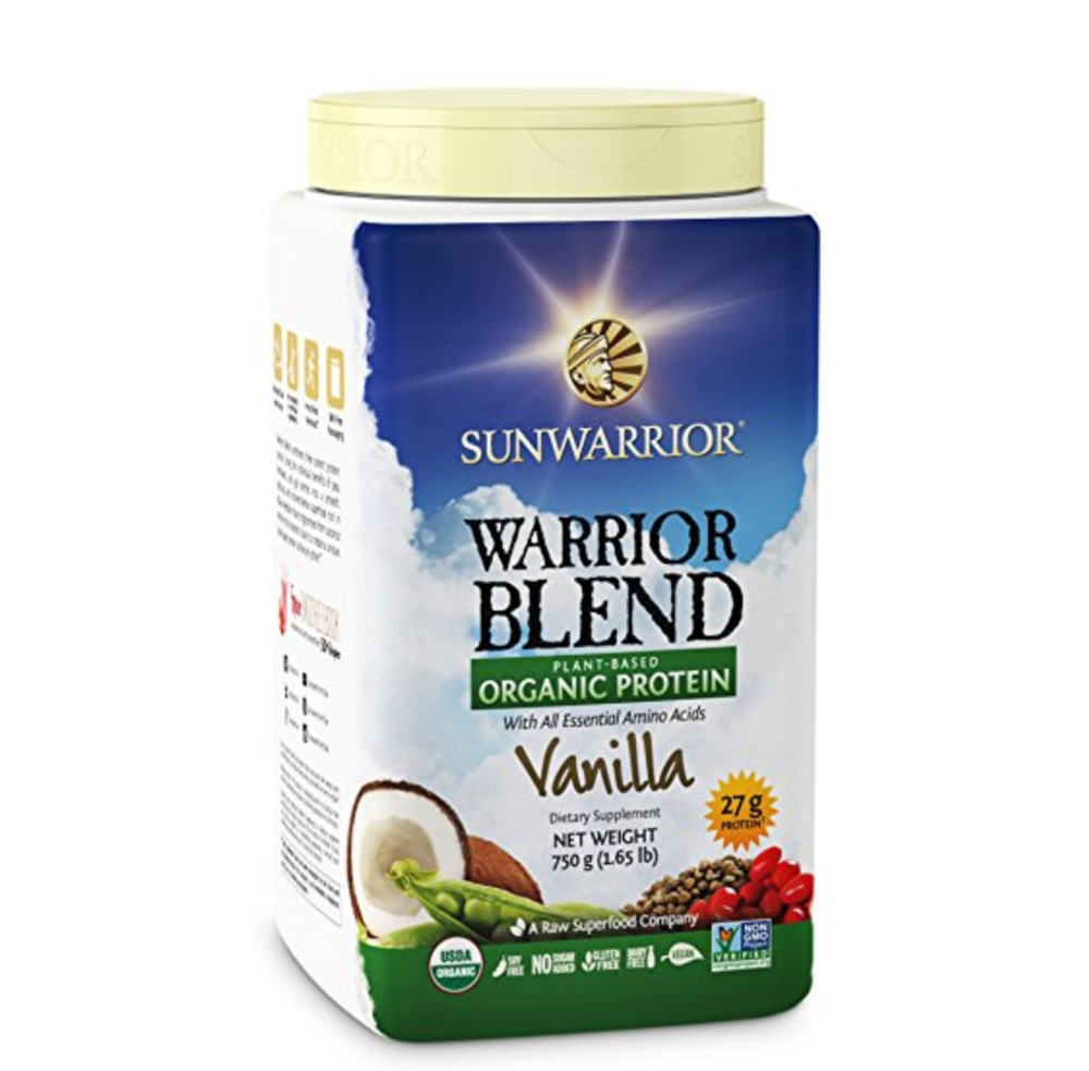 Sunwarrior:  Plant Based Protein Powder