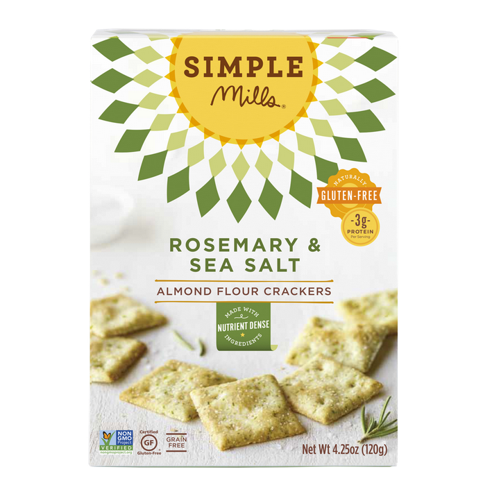 Simple Mills Crackers and Cookies