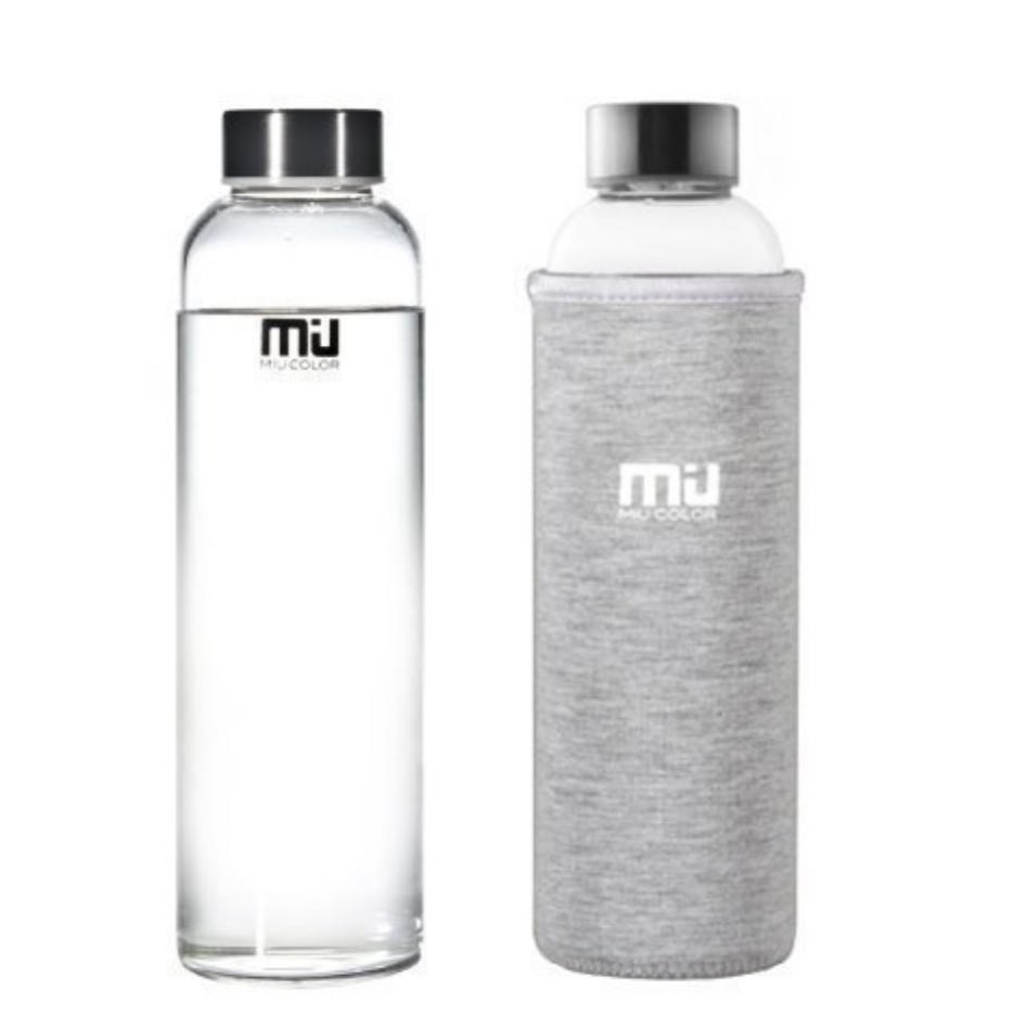 MIU  Glass Water Bottles