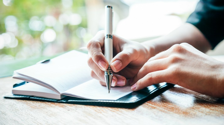 Journaling for Gratitude -