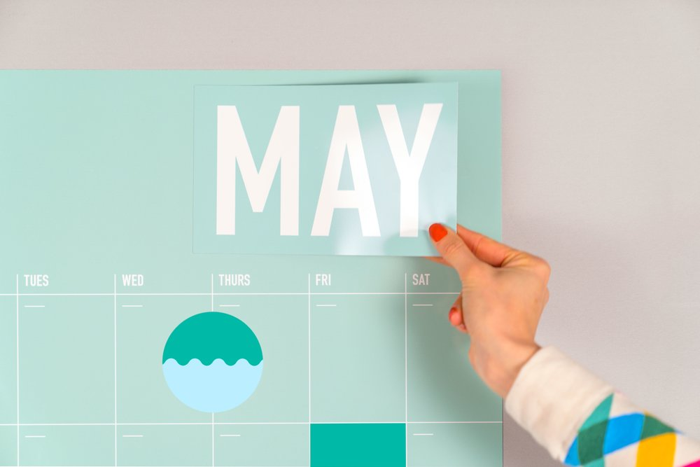 Magnetic Wall Planner - By Poketo [coming soon]