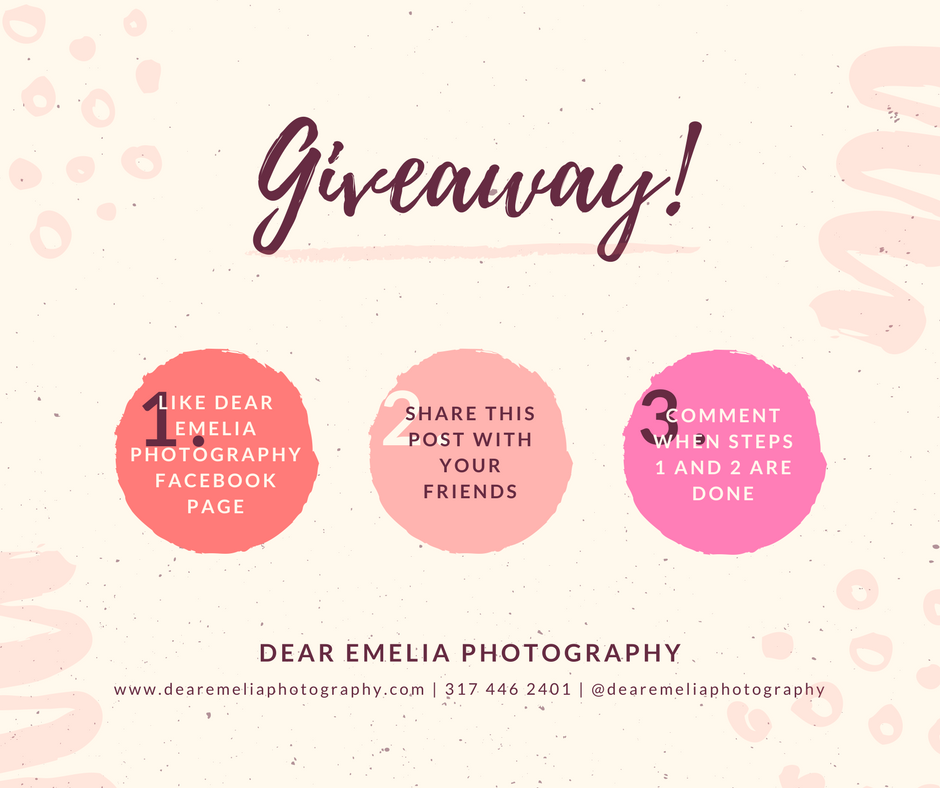 Dear Emelia Photography Giveaway