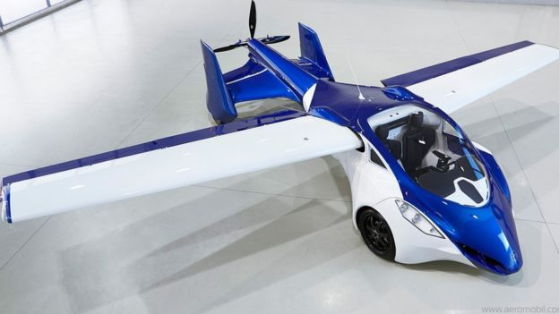 Slovakian firm Aeromobil is working on a flying car prototype