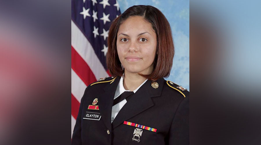 Spc. Hilda I. Clayton. ©U.S. Army