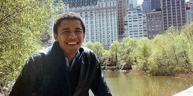 Obama was a graduate of Columbia working for a financial reports firm when he and Cook were lovers. Photo / AP