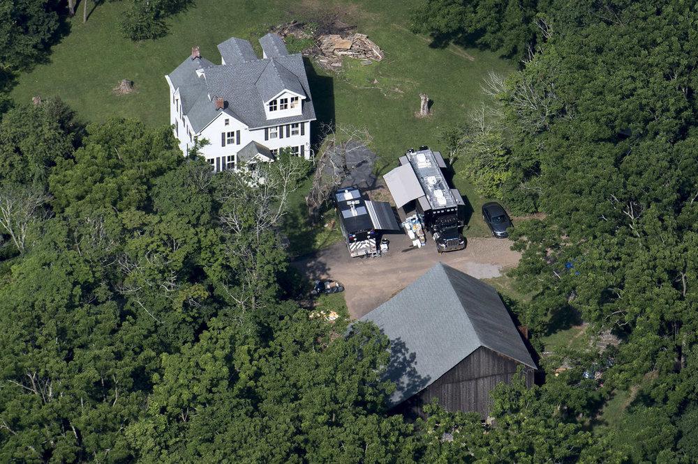 Police search the $5M DiNardo family farm