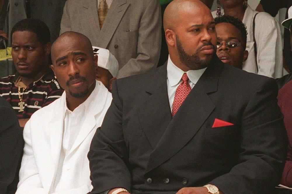Tupac Shakur and Suge Knight